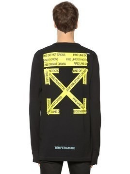 OVERSIZE JERSEY LONG SLEEVE T-SHIRT