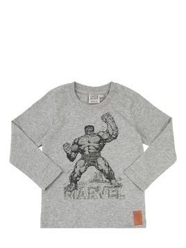 HULK PRINT COTTON JERSEY T-SHIRT