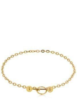 BARBELLE GOLD PLATED CHOKER