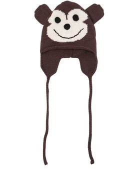 MONKEY MERINO WOOL KNIT HAT