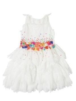 SEQUINED TULLE PARTY DRESS