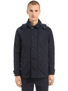 ICONIC CONSORT OXFORD NYLON JACKET