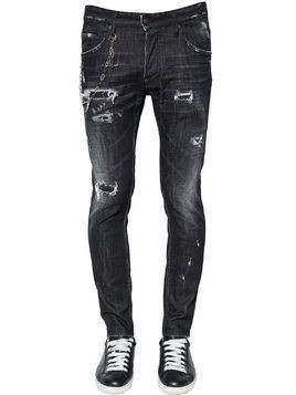 16CM SKATER JEAN COTTON DENIM JEANS