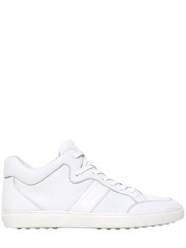 SPORT SIGNATURE LEATHER SNEAKERS