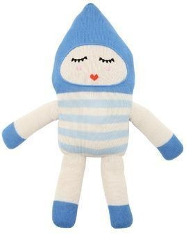 BONBON BLUE ALPACA KNIT STUFFED TOY