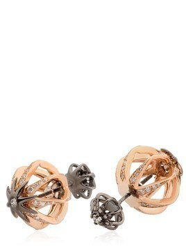 GALAXIA STAR CAGE REVERSIBLE EARRINGS
