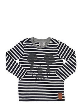 STRIPES MICKEY COTTON JERSEY T-SHIRT
