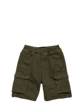 COTTON LIGHT GABARDINE SHORTS