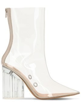 100MM PVC ANKLE BOOTS