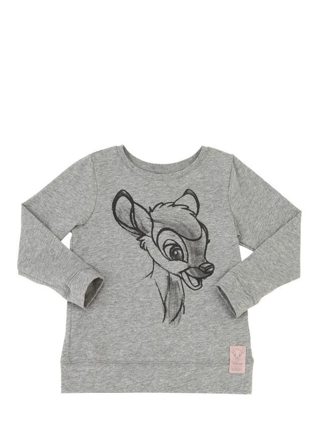 BAMBI COTTON JERSEY T-SHIRT
