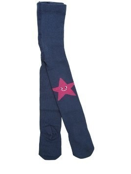 STAR & MOON INTARSIA COTTON TIGHTS