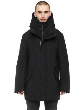 DOWN JACKET W/ DETACHABLE HOODIE