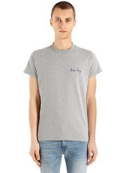 BAD BOY HEAVY COTTON JERSEY T-SHIRT