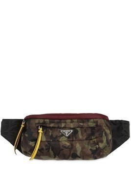 CAMOUFLAGE NYLON CANVAS BELT PACK