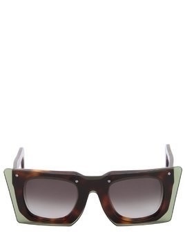 SQUARE LAYERED ACETATE SUNGLASSES