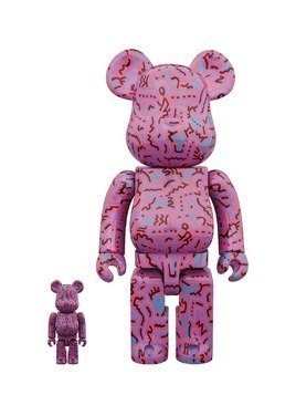 KEITH HARING 100%+400% BEARBRICKS