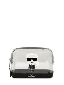 K/IKONIK TRANSPARENT COSMETIC BAG