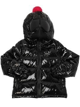 LAQUÉ NYLON DOWN JACKET