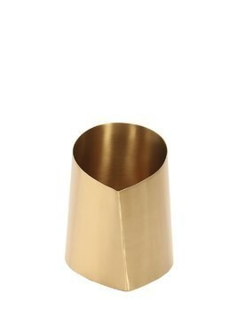 CANEVA MEDIUM BRASS VASE