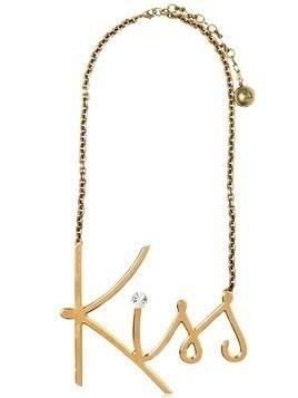 KISS GOLD PLATED BRASS NECKLACE