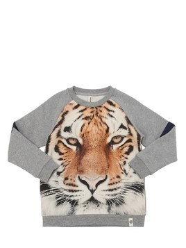 TIGER ORGANIC COTTON SWEATSHIRT