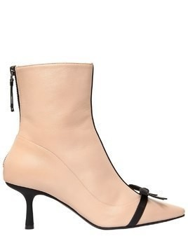 65MM MADEMOISELLE DENEUVE LEATHER BOOTS
