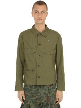 XPO COTTON POPLIN WORK OVERSHIRT