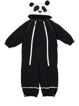 PANDA WATERPROOF NYLON CANVAS SKI SUIT