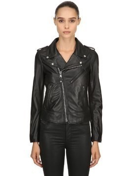 PERFECT LEATHER BIKER JACKET