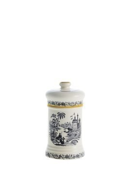 NEGRO VISTAS SMALL CERAMIC PHARMACY POT
