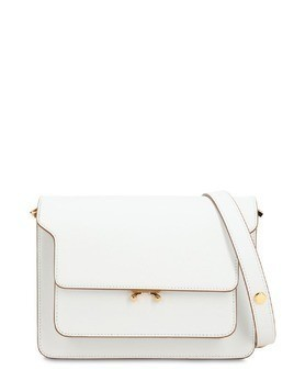MEDIUM TRUNK SAFFIANO SHOULDER BAG