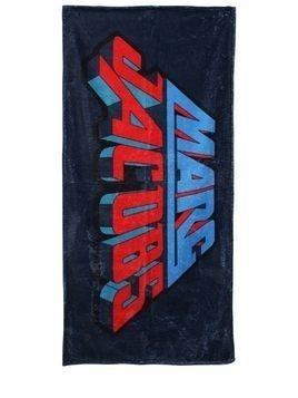 LOGO PRINTED COTTON TERRYCLOTH TOWEL