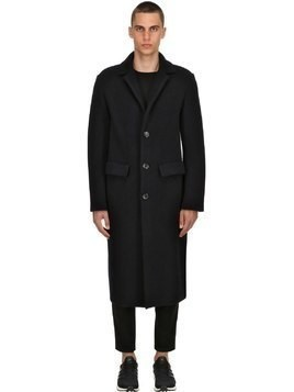 STRUCTURED MERINO WOOL COAT
