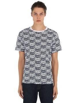 OVERSIZED GRAPHIC COTTON JERSEY T-SHIRT