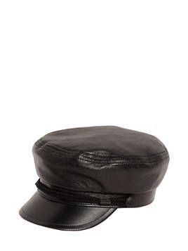 CHAPEAU MARINE LEATHER HAT