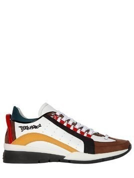 551 HIGH LEATHER SNEAKERS