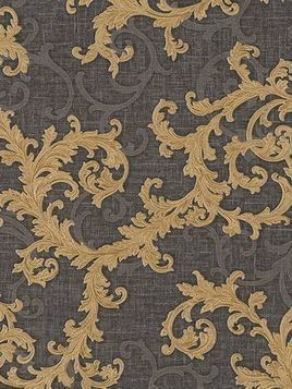 BAROQUE AND ROLL PRINTED WALLPAPER