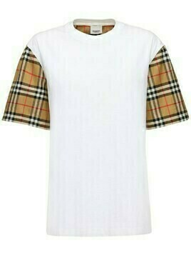 Serra Cotton T-shirt W/ Check Sleeves
