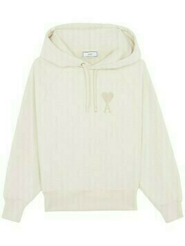Ami De Coeur Embroidered Cotton Hoodie