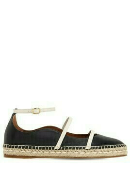 20mm Selina Leather Espadrilles