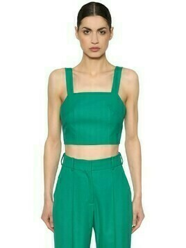 Cool Wool Crop Top