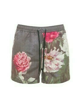 William Flower Print Shorts