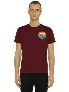 Painted Landscape Cotton T-shirt