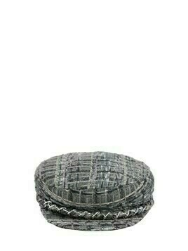 Marina Acetate Blend Tweed Cap