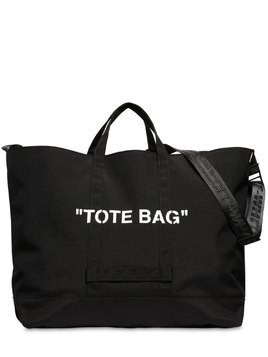 """TOTE BAG"" TECH CANVAS TOTE BAG"