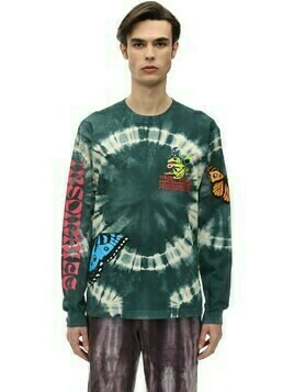 Psychedelics L/s Cotton Jersey T-shirt