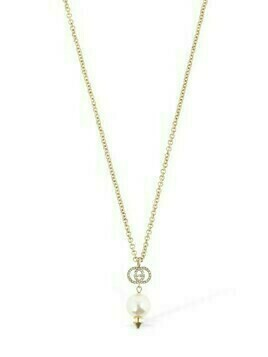 Gg Imitation Pearl Long Necklace