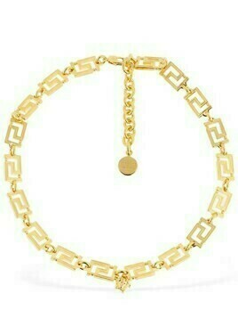 Greek Motif Collar Necklace