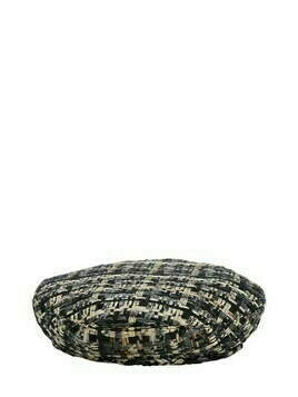 Cher Cotton Blend Tweed Beret