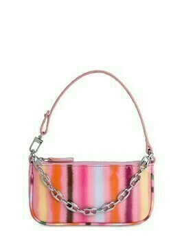 Mini Rachel Spray Print Leather Bag